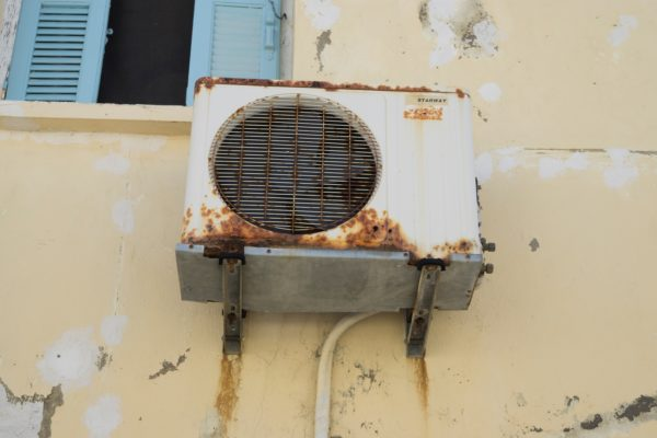 HVAC system with mold